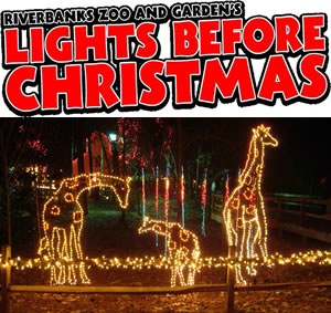 The Lights Before Christmas.Greenville Lights Before Christmas Return To Riverbanks