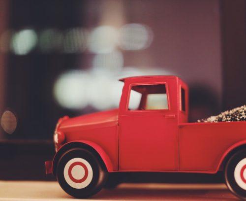 Christmas Toy Car