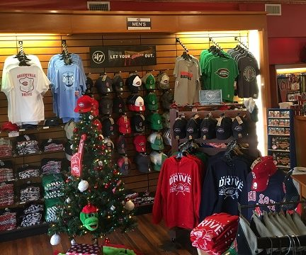 Greenville Drive Team Store