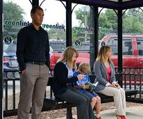 GreenLink Bus Stop