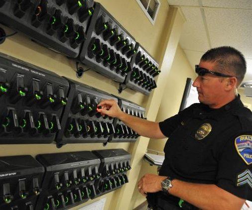 Police Body Camera Station