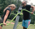 Fitness Stations at Cleveland Park