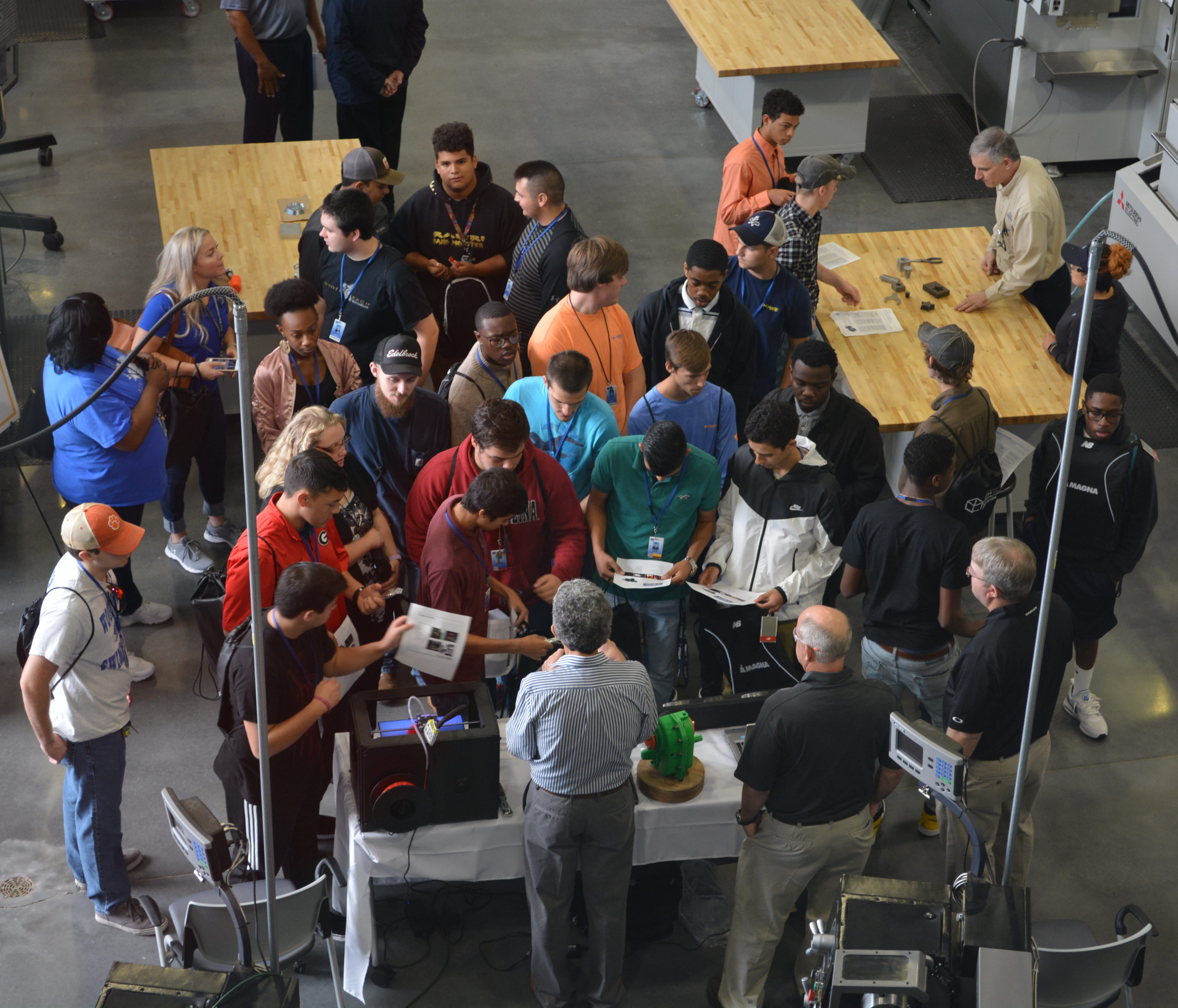 Greenville County Schools Celebrate National Manufacturing Day