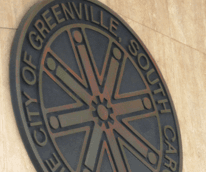 City of Greenville Plaque