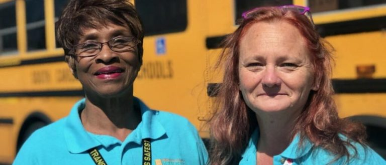 Carletta Cyrus and Tammy Cummings of Greenville County Schools.