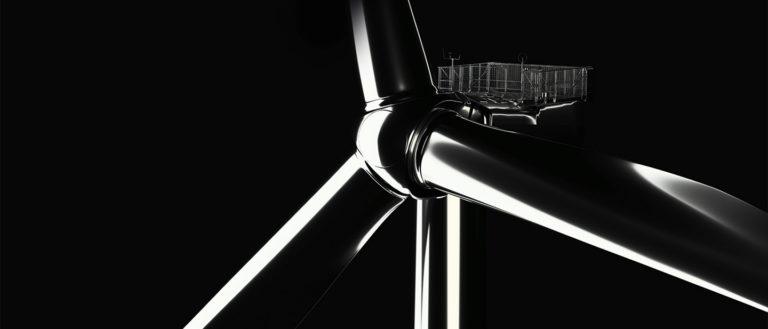 MHI Vestas V164 9.5 megawatt wind turbine.